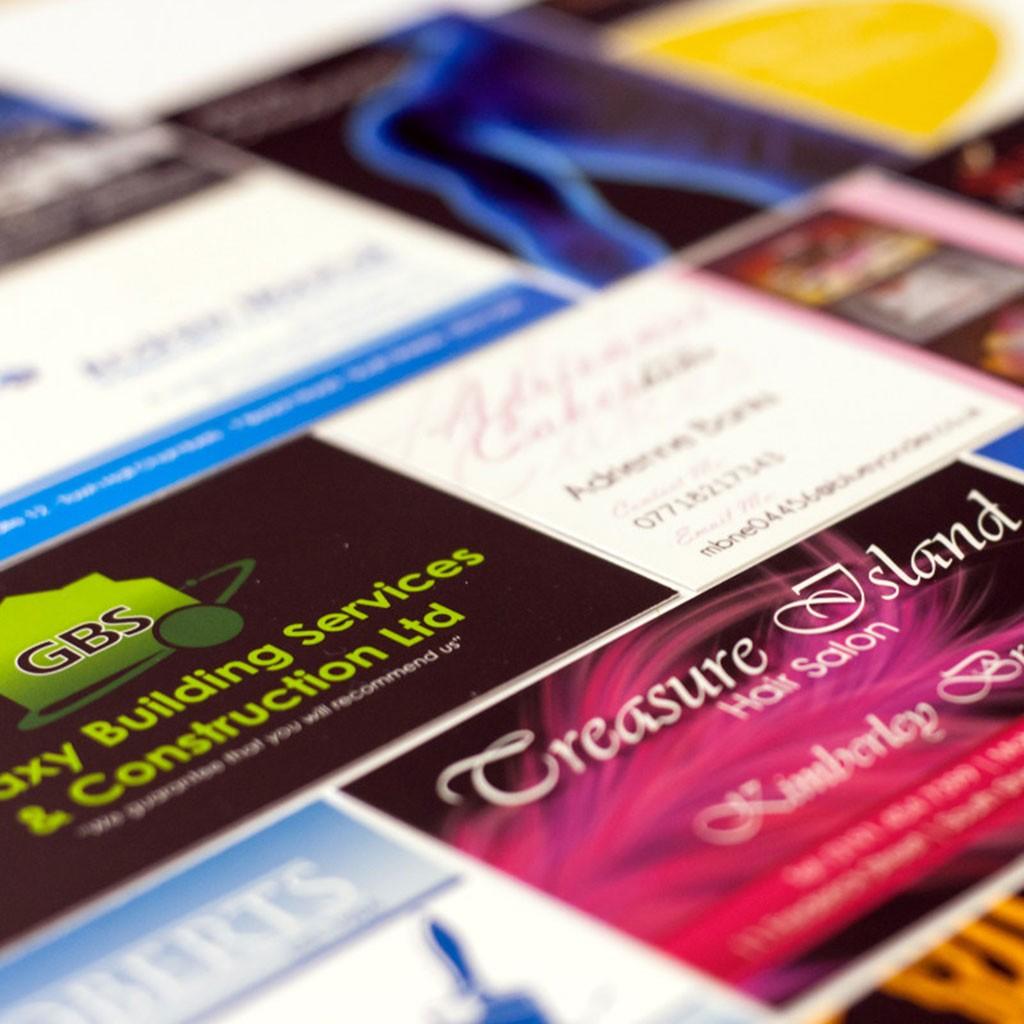 Custom Business cards from DAOSbiz