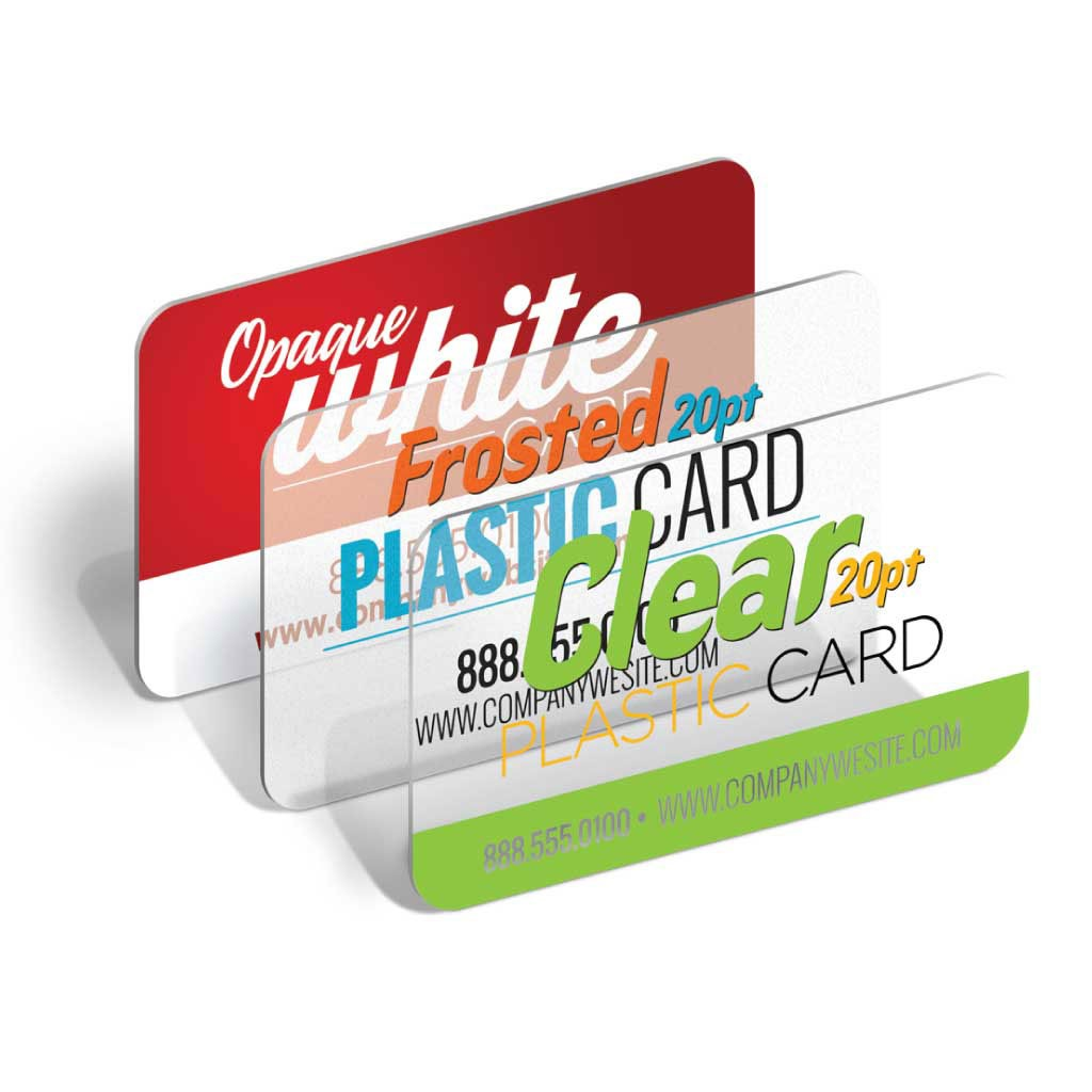 Plastic Business Cards from DAOSbiz