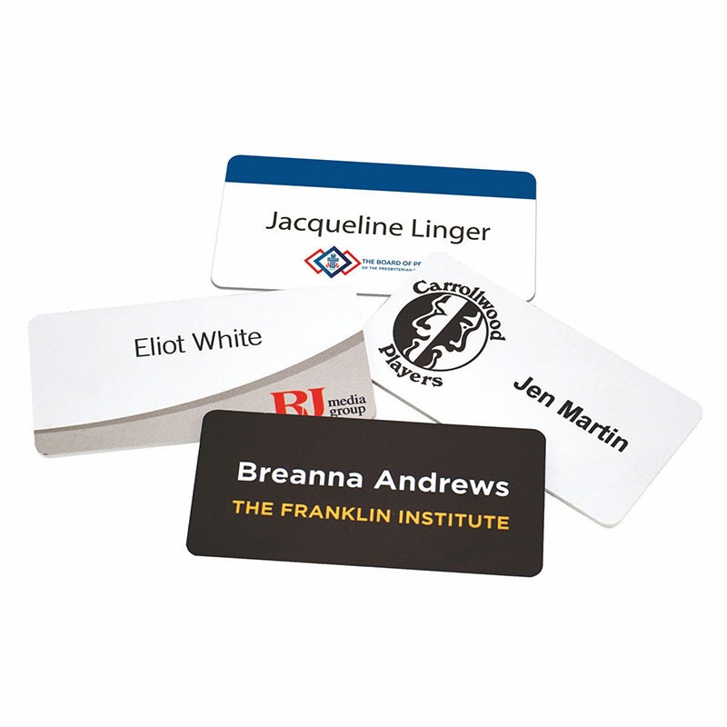 Full Color Name Badges from DAOSbiz