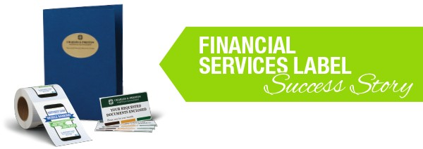 Case Study: Financial Services Label Success Story
